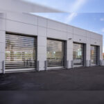 RYTEC Spiral® FV® High Performance, Full Vision Rigid Rolling Door